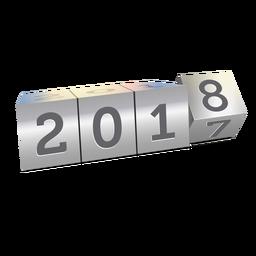 2018 mudando ano