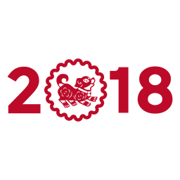 Año 2018 perro