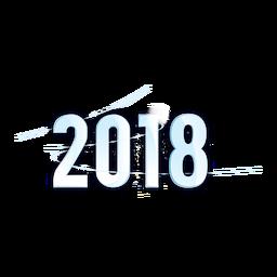 2018 azul claro