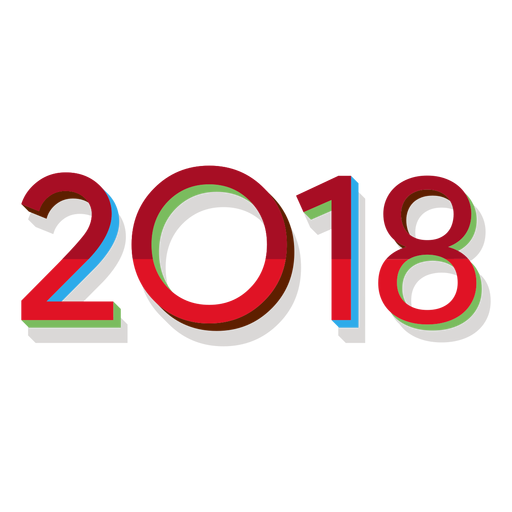 2018 red Transparent PNG
