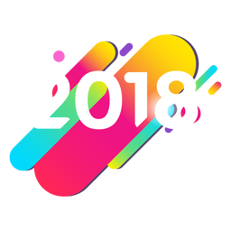 2018 colorful