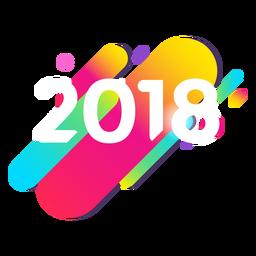 2018 colorido
