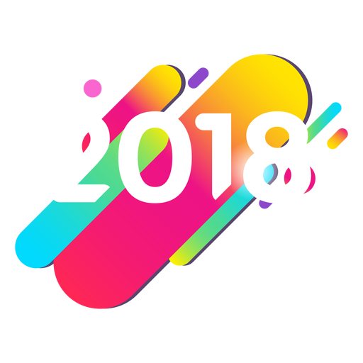 2018 colorful Transparent PNG
