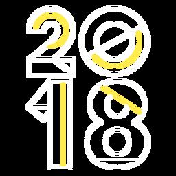 Estilo de 2018 hipster