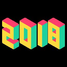 2018 isométrico