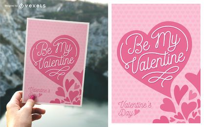 Cute Valentine's Day greeting card