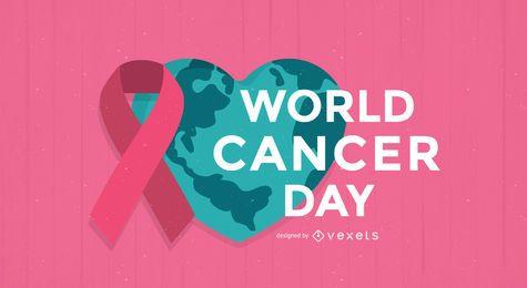 Cartaz do Dia Mundial do Câncer