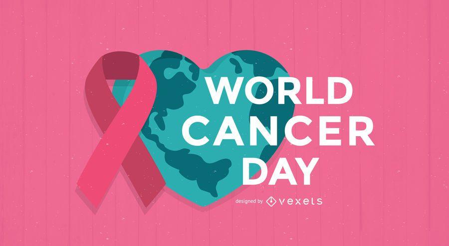 Cartaz do Dia Mundial do Cancro