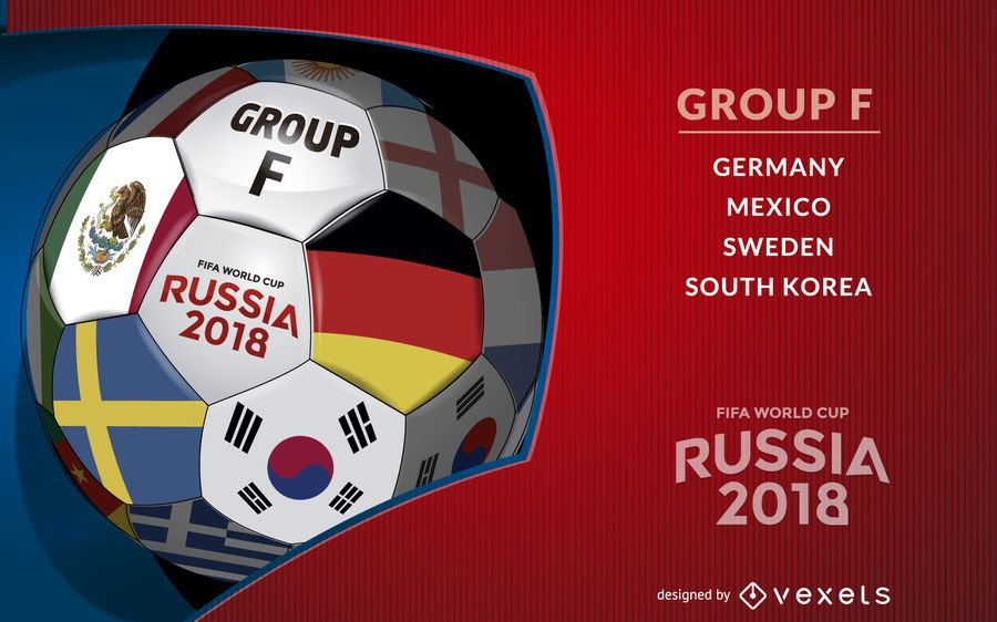 Russia 2018 Group F ball
