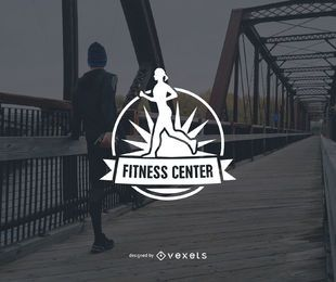 Fitness-Center-Logo-Vorlage Design