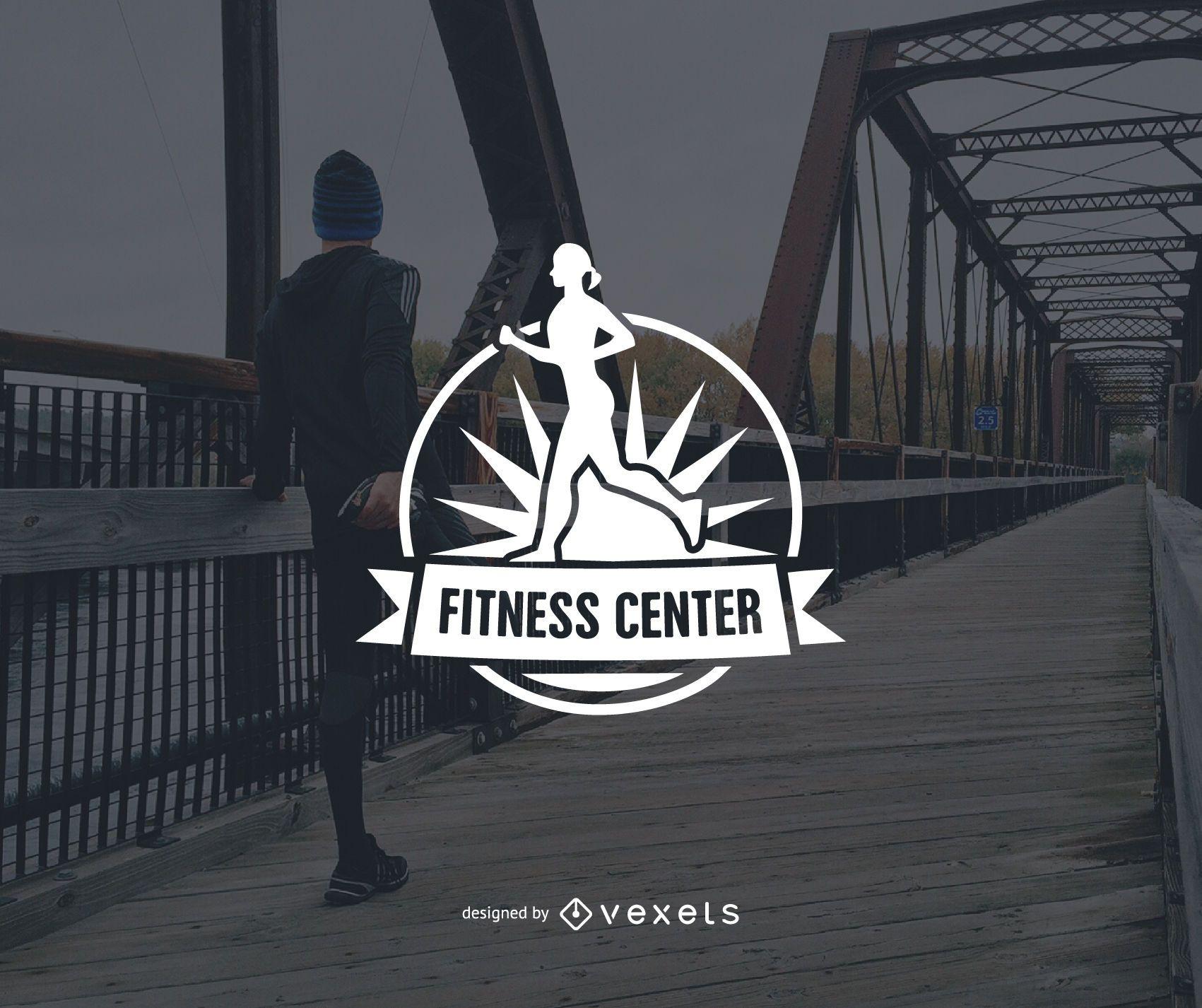 Fitness Center logo template design