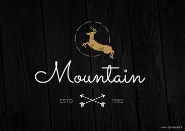 Hipster-Logo-Hersteller mit Illustrationen