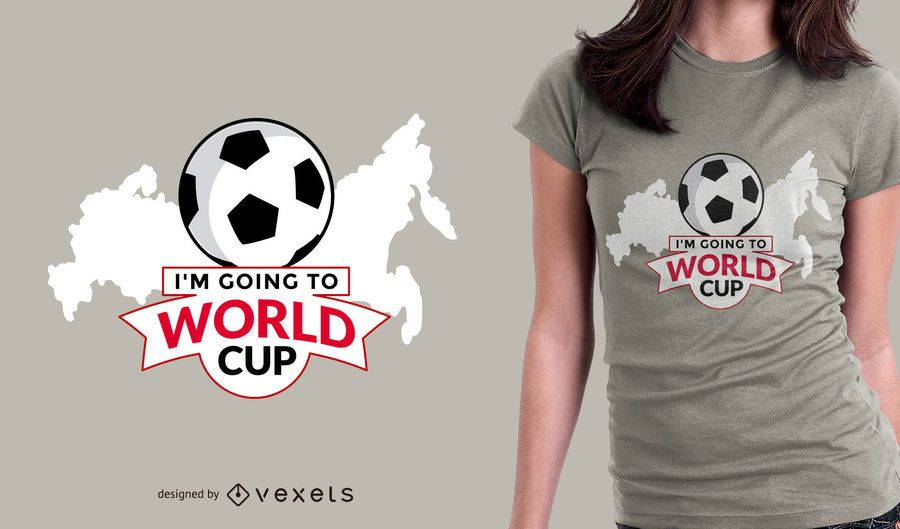Going to Russia t-shirt design