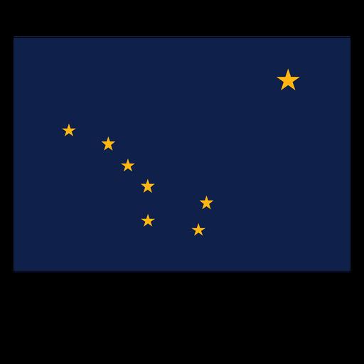Alaska state flag Transparent PNG