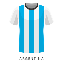 Argentina world cup football shirt cartoon