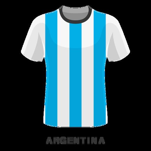 Argentina world cup football shirt cartoon Transparent PNG