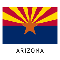 Bandera del estado de arizona