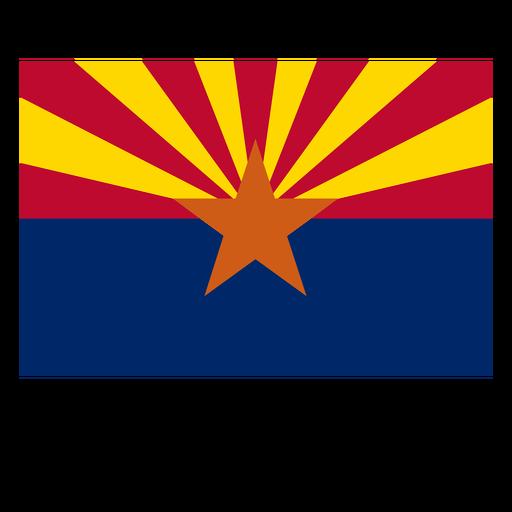 Arizona state flag Transparent PNG