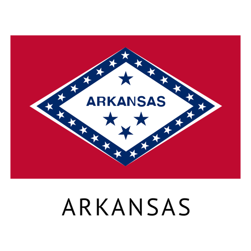 Arkansas state flag Transparent PNG
