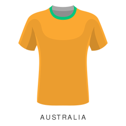 Australia world cup football shirt cartoon