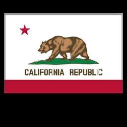Staatliche Flagge von Kalifornien