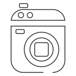 Camcorder video camera stroke icon