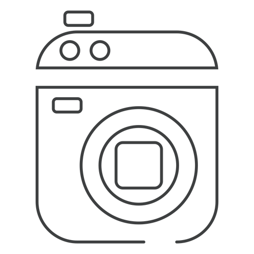 Camcorder video camera stroke icon Transparent PNG