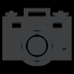 Ícone cinza da câmera