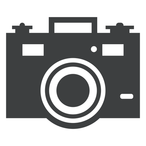 Icono de camara gris Transparent PNG
