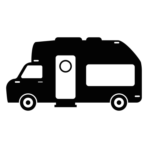 Camper van flat icon Transparent PNG