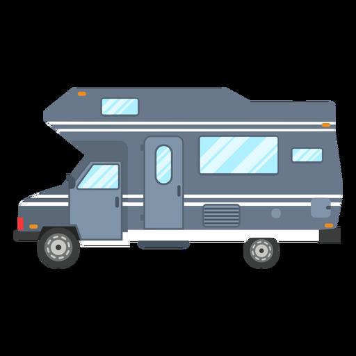 Camper van vector Transparent PNG