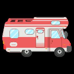 Vector de vehículo camper