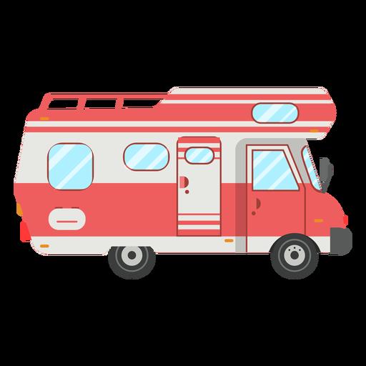 Camper vehicle vector Transparent PNG