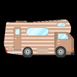 Campervan vehicle vector