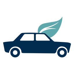 Logotipo del servicio ecológico del coche.