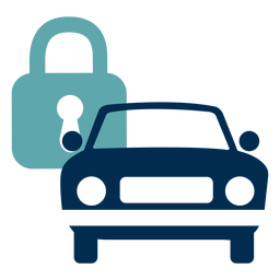 Car lock service logo