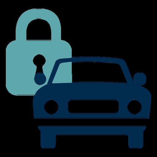 Car lock service logo Transparent PNG