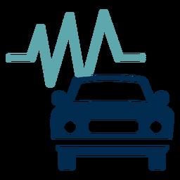 Logotipo de serviço de manutenção de carro
