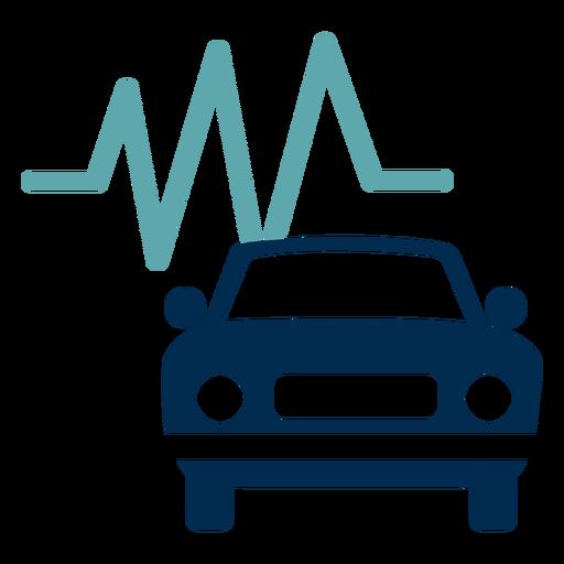 Car maintenance service logo Transparent PNG