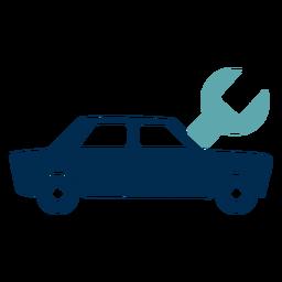Logotipo del servicio mecánico de automóviles