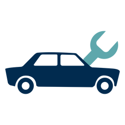 Logotipo do serviço de mecânica de carro