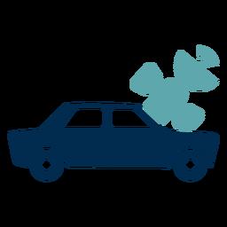Logotipo de servicio de navegación del coche