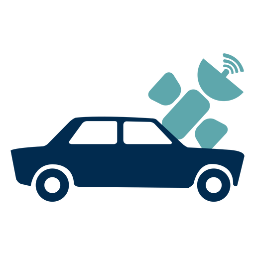 Car navigation service logo Transparent PNG