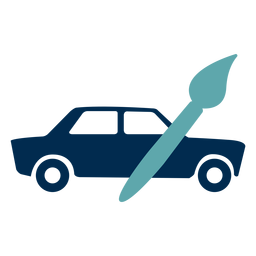 Logotipo de servicio de pintura de coches
