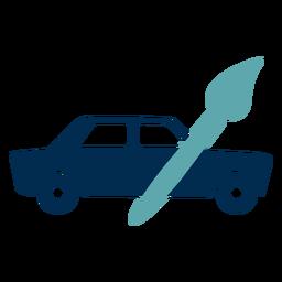 Logotipo do serviço de pintura de carro