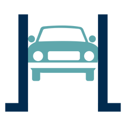Logotipo do serviço de reparo de carros