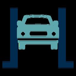 Logotipo do serviço de reparo do carro