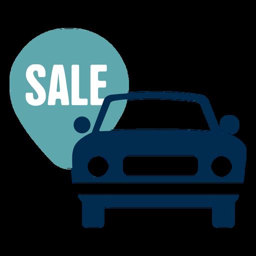 Car sale service logo Transparent PNG