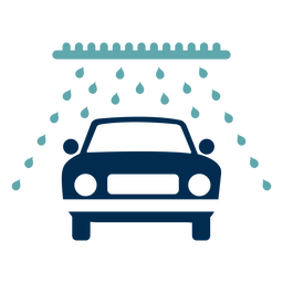 Car wash service logo