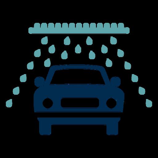 Car wash service logo Transparent PNG